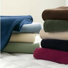 NEW VELLUX MARTEX BLANKETS WEST POINT STEVEN'S SELECT YOUR SIZE AND COLORS