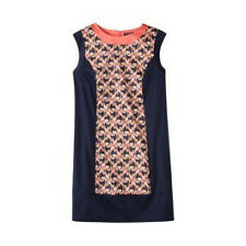 THE WEBSTER MIAMI AT TARGET NAVY DECO PRINT SHEATH DRESS
