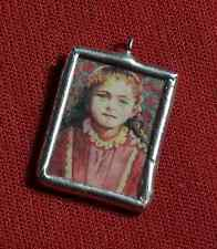 ST THERESE (SAINT THERESA)—Catholic Jewelry Charm Holy Medal—Gift Women/Girls