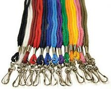 100/100 LANYARD/LANYARDS and 100 HOLDER/HOLDERS NECK STRAP/STRAPS ID CARD SAFETY