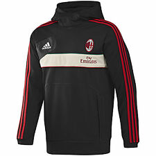 adidas AC MILAN 2012-2013 Soccer Hooded Top Black/Red/Green/Beige Brand New