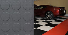 "Coin Pattern Garage Floor Tile by MotorMat 12""x12"" x 1/2"" 40 Pack"