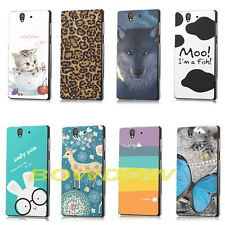 Various Fashion Pattern back hard Case cover for Sony Xperia Z L36H C6602 C6603