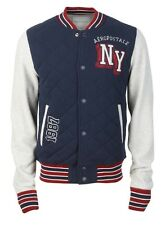 AEROPOSTALE AERO Mens NY Varsity Jacket Letterman Coat New York S,M,L,XL,2XL,3XL