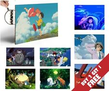 HAYAO MIYAZAKI POSTERS Great Anime Masterpieces of The Director MANGA ARTIST FAN