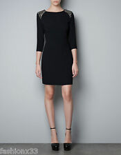Zara  FANTASY SHOULDER Dress SIZE XS,S,M,L