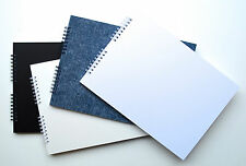 Mountboard Blank Scrap Book / Guest Book / Photo Album A4, 20 Pages, Acid Free