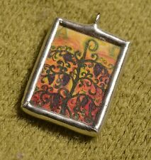 For Her - I Am the Vine, You Are the Branches - Catholic Jewelry Soldered Charm