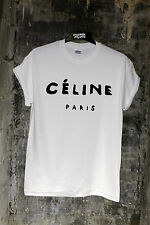 * CELINE PARIS RIHANNA TOUR T SHIRT NEW TEE TOP COMME DES FUCKDOWN GEEK HYPE