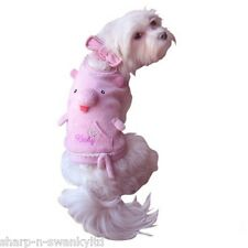 Pet Dog Cat Farm Pig Halloween Jumper Gift Fancy Dress Costume Outfit Clothes