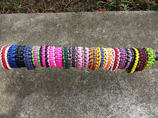 Custom Made 4U Paracord Survival Bracelet Handmade In The USA with 550 Paracord