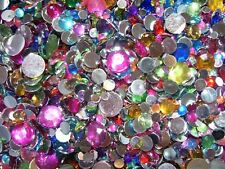 Mixed sizes & colors 2-10mm Rhinestones,DIY,bling,deco,cell phone case,Nail Art