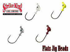 Strike King Flats Jig Heads 3 Pack Swimbait Jig Heads - Select Color/Size