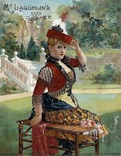 3309.Victorian New Ideas Fashion dresses POSTER.Coffee.Red Room Home art decor