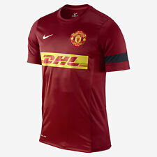 Nike Manchester United Official 2012-13 Soccer Training Jersey Red - Black