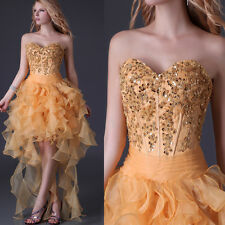 High-low Homecoming Formal Evening Prom Party Gown Cocktail Clubwear Short Dress