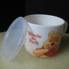New Disney Winnie the Pooh Baby Plastic Cup With Lid Childs Sippy Cup Mug 200ml