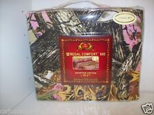 Popular Pink Camo Sheets & Pillowecase Set in Twin, Full, Queen & King