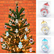 Cute Mini Snowman Xmas Ornaments Classic Decor Gift Christmas Tree Decorations