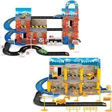KIDS CITY CAR PARK CHILDRENS CONSTRUCTION SITE CARS PARKING PLAY SET TOYS GAMES
