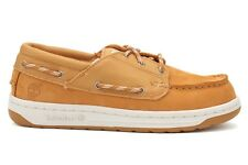 Timberland Boat Shoes 26922 Wheat New Big Kid's Juniors Size 3.5~7
