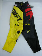 CLEARANCE 2013 Shift Reed Replica Pants Yellow SX MX ATV OFF Road cheap sale one