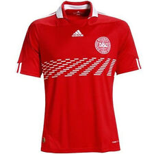 adidas Denmark World Cup WC 2010 Home Soccer Jersey Brand New Red / White