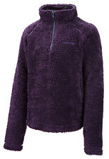 Craghoppers Iskaro Girls Fleece Half-Zip Fluffy Hi-Pile Age 5 - 13 yrs