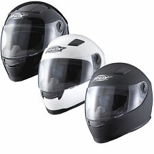 SHOX SNIPER SOLID INTÉGRALE MOTO MOBYLETTE SCOOTER CASQUE GHOSTBIKES