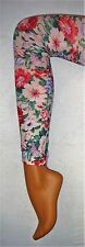 New Printed Floral Tights Footless Quality Fashion Pantyhose Aus Seller