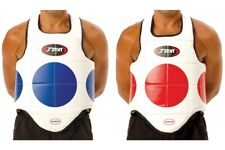 BODY ARMOUR -Taekwondo Hogu Sparring Guard or Karate Chest Protection RED & BLUE