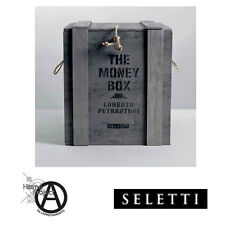 SELETTI THE MONEY BOX SALVADANAIO CON SERIGRAFIE A MANO DESIGN