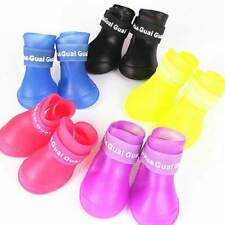 Dog Rainboots Waterproof Protective Winter Puppy Adult Shoes Rubber S - XXL Size