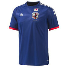 adidas Japan World Cup WC 2014 Home Soccer Jersey Brand New Royal Blue / Red