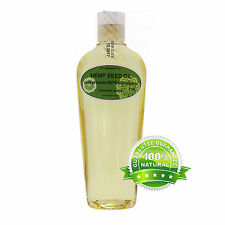 HEMP SEED OIL REFINED RAW ORGANIC COLD PRESSED 2 OZ UP TO 7 LB *FREE SHIPPING*