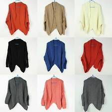 Hot Lady Long Sleeve Batwing New Swallow-tailed  Knitted Cardigan 8 Color Choose