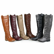 Brinley Co. Womens Mid-calf Riding Boots
