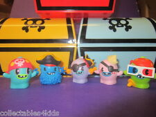 Moshi Monsters Ghostly Pirates Collection: pick your regular & gold figures