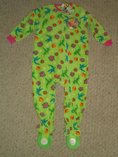 NWT Disney Fairies Tinkerbell Footed Blanket Sleeper Pajamas Size 2T or 3T