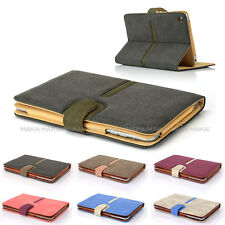 Suede Leather Smart Case Cover for iPad Mini 1 & 2 Retina + Screen Protector