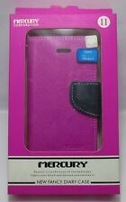 Mercury Stylish Diary Flip Case Cover for Apple Iphone 4G/4S