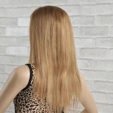 100% Remy Indian Human Hair Full Lace Wigs Silky Straight #27