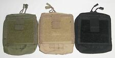 Condor MA35 Map Pouch GP Admin Utility Chart ID MOLLE OD Green Black Coyote Tan