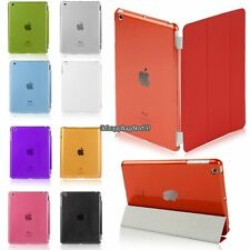 Smart  Crystal W/Stand Ultra Slim Back Protective Case Smart Cover For iPad Mini