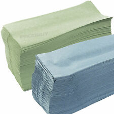 2 x Packs of approx 180 C Fold Multifold 1 Ply Paper Hand Feed Towels Toilet