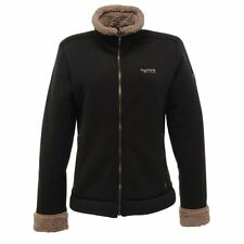 Regatta Womens Daisy Fleece Jacket Coat Black RWA112 Outdoor