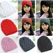 Winter Unisex Mens/Women's Knit Hat Beret Skull Cap Ski Sport Knitted Beanie New