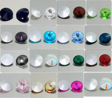 30PCS XILION #1122 ELEMENTS Crystal Rivoli Beads 10mm  Variety of colors