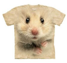 THE MOUNTAIN: Kinder T-Shirt - Hamster Face, Gr. S, M, L, XL