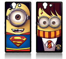 MINIONS SONY XPERIA Z COVER HARD CASE DESPICABLE ME SUPERMAN HARRY POTTER MINION